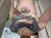 Galaxy whale tattoo