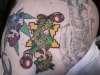 Weed Luigi tattoo