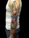 sleeve outside tattoo