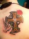 Cross for my Grandpa - Just Done tattoo