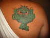 green meanie tattoo