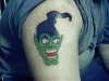 Green Goblin tattoo