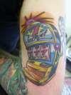 Jackpot tattoo