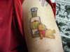 Drunken Pooh tattoo