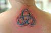 My first tattoo- Triquetra