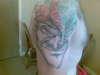 evil jester tattoo