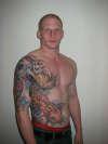 1/2 torso koi tattoo tattoo
