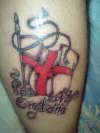 st george tattoo