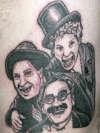 the marx bros. tattoo