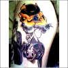 fox  and fishy tattoo