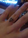 my diamond ring tattoo