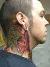 zombie neck tattoo