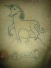 Unicorn (Tina) tattoo