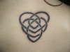 celtic motherhood heart tattoo