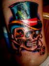 Mr. Lucky tattoo