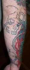 Skulls in prog 3 tattoo