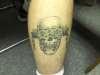 Megadeth Vic Rattlehead tattoo