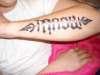angel/devil tattoo