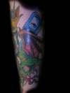 Skull 'n' Snakes III tattoo