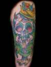 Skull 'n' Snakes IV tattoo