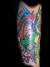 Skull 'n' Snakes V tattoo