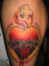 my sacred heart.. tattoo