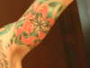 under right arm tattoo