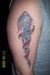 dragon dagger tattoo