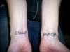 wrist tat tattoo