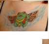 Freddie The Flying Frog of Doom Doom Doom.... tattoo