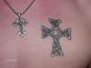celtic cross on my chest tattoo