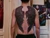 crow wings tattoo
