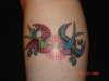 Sparrows tattoo