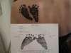 baby's foot prints tattoo