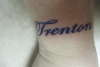 my sons name tattoo