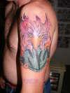 NZ Tattoo eagle