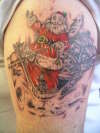 happy xmas from peter jordan at double dragon tatts lol tattoo