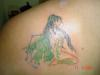 Green Fairy tattoo