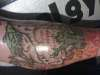inside leg/top tattoo