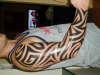 spanks tribal tattoo