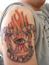 Focus the Mind's Eye tattoo