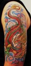 Roaring Dragon tattoo