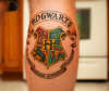 Hogwarts School Crest tattoo