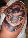 Vampire / Gothic Window tattoo