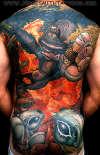 Opression tattoo