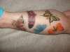 All the butterflies tattoo