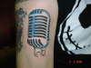 mic tattoo