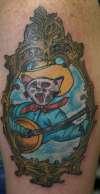 Cowboy Cat tattoo