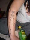 hatchet alice tattoo