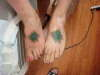 Matching feet tattoo